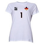 Germany FIFA Women's World Cup Canada 2015(TM) Player Women's T-Shirt (White)