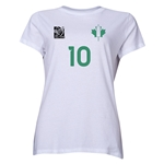 Nigeria FIFA Women's World Cup Canada 2015(TM) Player Women's T-Shirt (White)