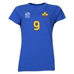 Ecuador FIFA Women's World Cup Canada 2015(TM) Player Women's T-Shirt (Royal)
