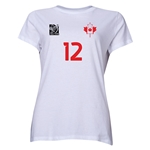 Canada FIFA Women's World Cup Canada 2015(TM) Player Women's T-Shirt (White)