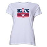 I Believe Women's T-Shirt (White)