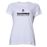 Tulsa Roughnecks FC Soccer Women's T-Shirt (White)