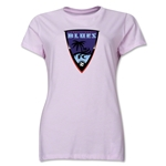 Orange County Blues Soccer Women's T-Shirt (Pink)