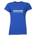 Colorado Springs Switchbacks Soccer Women's T-Shirt (Royal)
