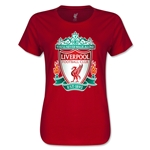 Liverpool Crest Women's T-Shirt (Red)