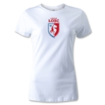LOSC Lille Crest Women's T-Shirt (White)