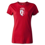 LOSC Lille Crest Women's T-Shirt (Red)