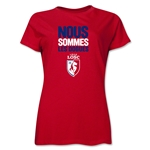 LOSC Lille We Are Women's T-Shirt (Red)