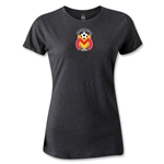 Morelia Monarcas Logo Women's T-Shirt (Dark Gray)