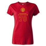 Manchester United 1878 Women's T-Shirt (Red)