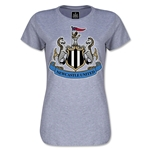 Newcastle United Crest Women's T-Shirt (Gray)