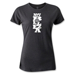 NTV Beleza Graphic Women's T-Shirt (Black)
