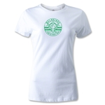 NTV Beleza Women's Distressed Logo T-Shirt (White)