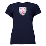 Pink FC Women's T-Shirt (Navy)