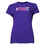Pink FC Women's T-Shirt (Purple)