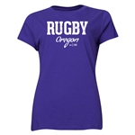Rugby Oregon Women's T-Shirt (Purple)