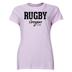 Rugby Oregon Women's T-Shirt (Pink)
