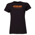 Netherlands Powered by Passion Women's T-Shirt (Black)
