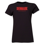 Denmark Powered by Passion Women's T-Shirt (Black)