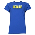 Ukraine Powered by Passion Women's T-Shirt (Royal)