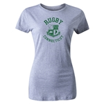 Rugby Connecticut Women's Cut Statement T-Shirt (Grey)