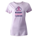 Rugby Fights Cancer Women's T-Shirt (Pink)