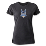 Carolina Railhawks Women's T-Shirt (Black)