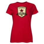 Sacramento Republic FC Soccer Women's T-Shirt (Red)