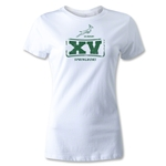 South Africa Springboks 15 Women's T-Shirt (White)