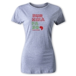 Burkina Faso Women's Country T-Shirt (Gray)