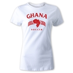Ghana Women's Country T-Shirt (White)