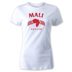 Mali Women's Country T-Shirt (White)