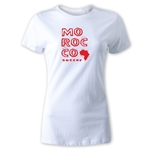 Morocco Women's Country T-Shirt (White)