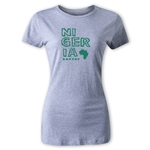 Nigeria Women's Country T-Shirt (Gray)