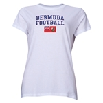 Bermuda Women's Football T-Shirt (White)