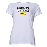 Brunei Women's Football T-Shirt (White)
