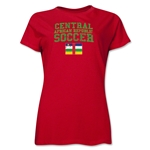 Central African Republic Camiseta de Futbol Femenil (Roja)