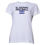 El Salvador Women's Football T-Shirt (White)