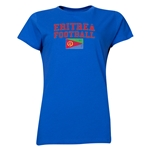 Eritrea Women's Football T-Shirt (Royal)