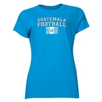 Guatemala Women's Football T-Shirt (Turquioise)