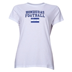 Honduras Women's Football T-Shirt (White)