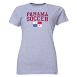 Panama Women's Soccer T-Shirt (Grey)