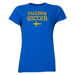 Sweden Women's Soccer T-Shirt (Royal)