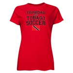 Trinidad & Tobago Women's Soccer T-Shirt (Red)