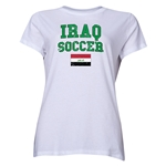 Iraq Women's Soccer T-Shirt (White)