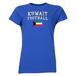 Kuwait Women's Football T-Shirt (Royal)