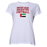 United Arab Emirates Women's Football T-Shirt (White)
