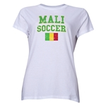 Mali Women's Soccer T-Shirt (White)
