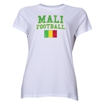 Mali Women's Football T-Shirt (White)