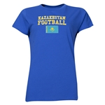 Kazakhstan Women's Football T-Shirt (Royal)